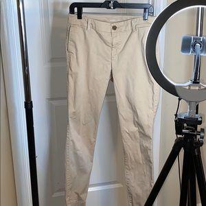 Old Navy Skinny Khaki Ankle Pants size 10